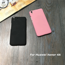Candy Colors Original Case For Huawei Y6 SCL-L21 SCL-L04 Y 6 honor 4A honor4a Frosted Hard Plastic Back Shell phone Case