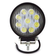 27W LED Work Light 12V IP67 Spot/Flood Fog Light Off Road ATV Tractor Train Bus Boat Floodlight ATV UTV Work Light(China)