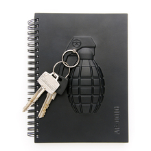 Free Shipping 1Piece Personalized Notebook Distinctive Weapons Notebooks Arms Notepad (Gun / Knife / Grenade) Novelty Gifts