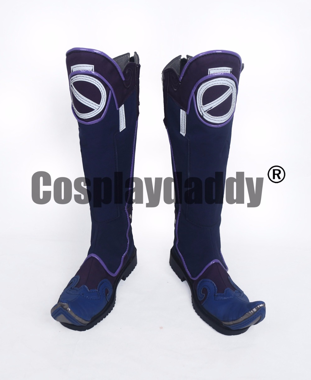 OW Heroes Defense Mei Legendary Jiangshi Version Cosplay Long Boots Shoes S008