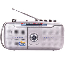 Learning machine elderly full band portable Frequency recorder Modulation Radio FM Tape player Digital World External Antenn