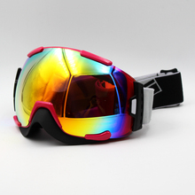 New Design Multi Lens Red Frame Brand New Ski Goggles Eyewear Mask Glasses Skiing Men Women Snow Snowboard Goggles