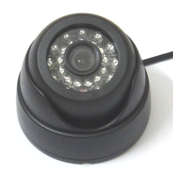 1/3 540TVL SONY CCD Color CCTV Indoor Dome Security Camera 24 IR LEDs Day Night Surveillance system<br>