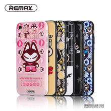 Remax Cute Cat design Phone Case For iPhone 7 7plus Slim TPU Silicone Cover Case For iPhone 7 7plus Protective sleeve cute style