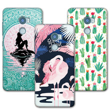 "For HTC One X10 Case Mermaid Painting Soft Silicone Back Cover Coque For HTC One X10 E66 Phone Cases 5.5""+Free Gift"
