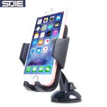 STJIE universal desk stand for phone strong suction rotatable car windshield dashboard support telephone for smartphone(China)