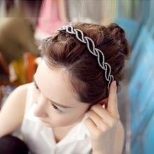 New 2014 female flower headdress Korean small jewelry jewelry rhinestone hair hairpin lace hairband headband teeth Accessories