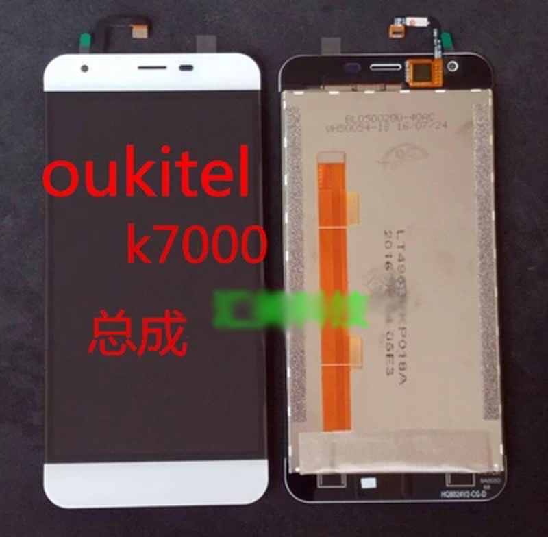 100% Original For oukitel K7000 LCD  Display Touch Screen Digitizer Replacement Ffree Shipping<br><br>Aliexpress