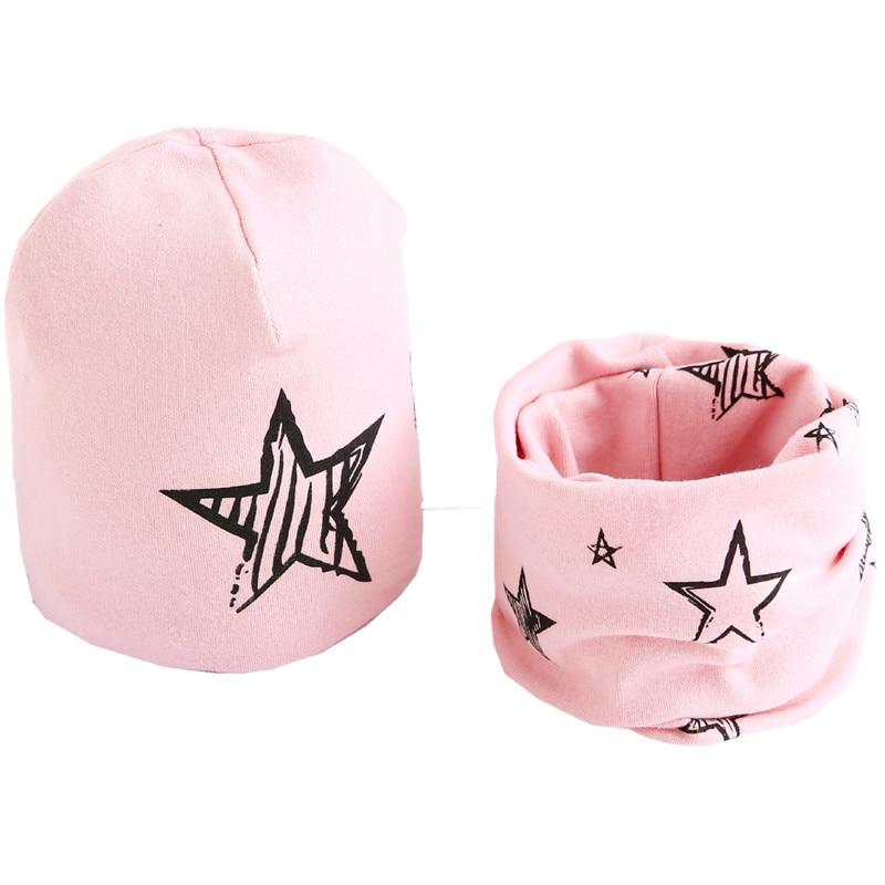 star pink hat set