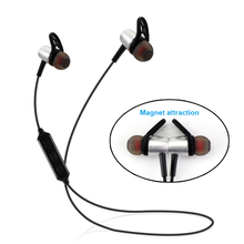 Magnet Wireless Bluetooth Headphones Headsets Stereo Gaming Sports Headphone Magnetic Earphones for Cell Phones