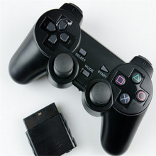 High Quality for PS2 Controller for Sony Playstation 2 Wireless Controller Vibration Gamepad With Retail Package