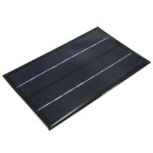 Hot Sale 9V 3W Monocrystalline Silicon poly Epoxy solar Panel small solar cell PV module for DIY solar display light 125x195mm