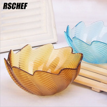 Colorful And Beautifully Minimalist Kitchen Glass Bowl Steamed Rice Bouger Bowl(China)