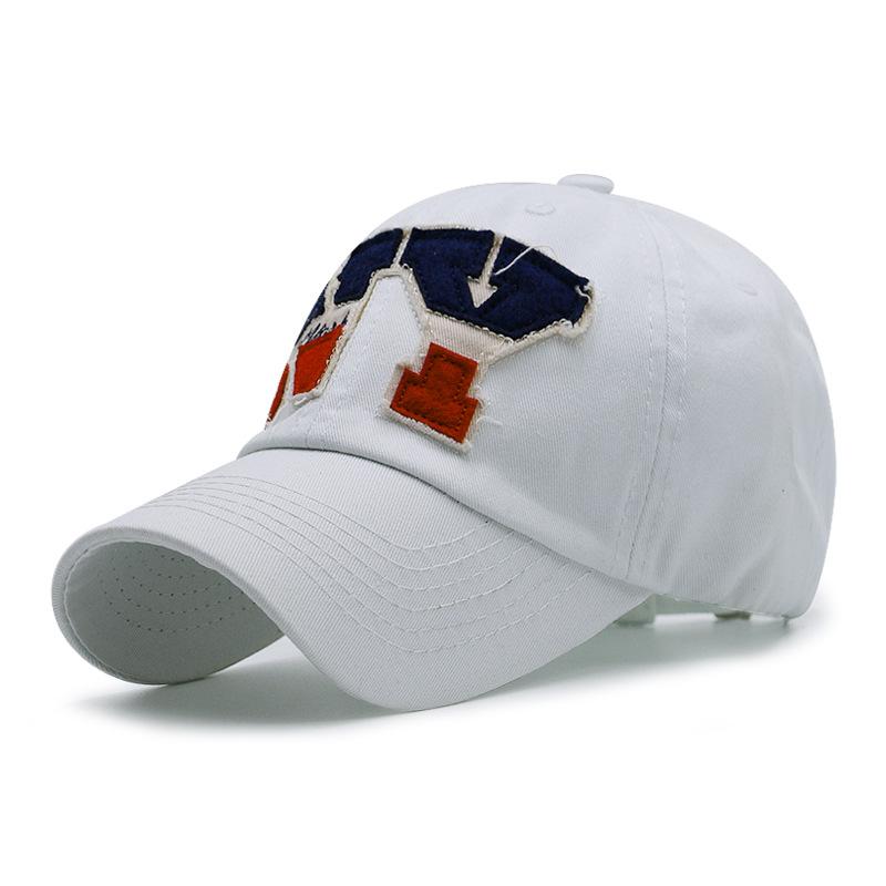 SNP Black white New York baseball cap bone snapback cap brand baseball cap gorras Black hats for men ny casquette hat wom 3
