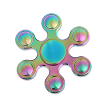 Buy Fidget Spinner Metal Rainbow Finger Hand Spinner zinc alloy EDC Tri Kids Autism ADHD Anxiety Anti Stress Relief Focus Toys for $5.99 in AliExpress store