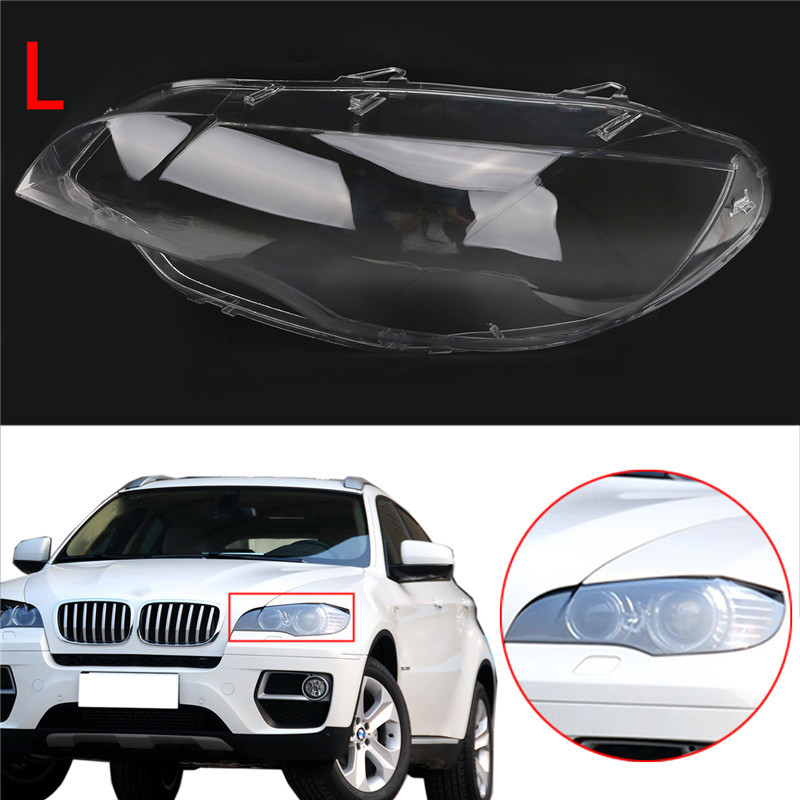Car Styling Left Clear Housing Headlight Lens Shell Cover Lamp Assembly 2 (4)