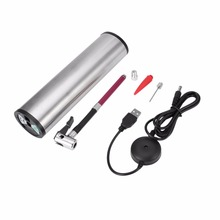 Rechargeable Portable Electric Car Ride Bicycle Pump Tire Tyre Inflator Mini Air Compressor With LCD Screen Display