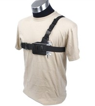 F06730 New Adjustable Light Weight 3 Points Chest Belt Shoulder Strap for GoPro HD Hero 2/3/3+/4/5 Camera