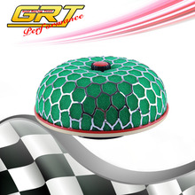 GRT - Air Filter NECK :100mm Cleaner Intake only green color without logo