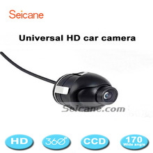 Universal 600TVL 360 Degree View HD Car Rear View Camera Front/Side /Left/Right Mini Reverse Camera Waterproof 1/4 CMOS Seicane