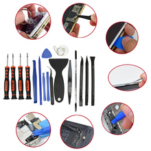 20 in 1 Multi Functional Mobile Cell Phone Maintenance Kit Phone Disassembly Hand Tools Set Screwdriver Screen Openner Tweezers