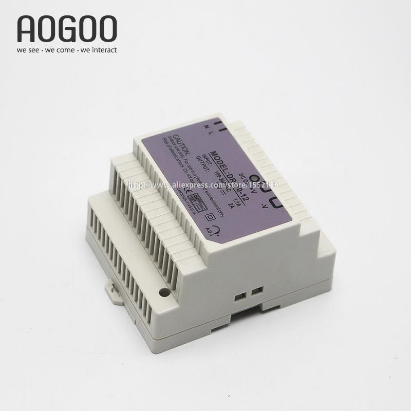 Din-Rail Series 30W 5V 6A Switch Mode LED Light Devices Switching Power Supply AC-DC PSU DR-30-5<br><br>Aliexpress