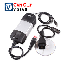 2016 Newest Version Renault Can Clip V155 Best Quality Renault Can Clip diagnostic interface renault clip Free shipping(China)