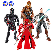 23 стиля совместимы с Legoinglys Star Darth Vader Wars Rogue One Toys Jango Phasma Toy Building Block(Китай)