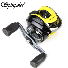 Cheap Low Profile Fishing Reel Bait Casting Saltwater 1RB+10BB 6.2:1 Gear Ratio Carp Trolling Sea Baitcasting Fishing Reel China(China)