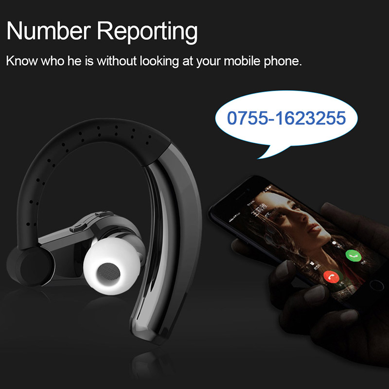 EHome T9 Wireless Bluetooth Headphones Bluetooth Earphones Hands-free With Mic Headset For Mobile Phone&Business Driving Car