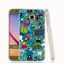 18097 Colorful Car Stickers cell phone case cover for Samsung Galaxy S7 edge PLUS S6 S5 S4 S3 MINI