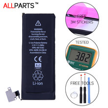 Allparts Original 1430mAh Phone Battery For iPhone4s iPhone 4s Battery Replacement Geniune Free Adhesive Strips +Tools