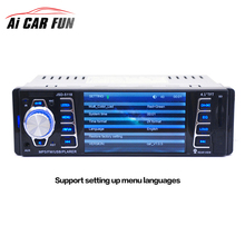 5118 Wide HD TFT 1 Din Autoradio Bluetooth Car Radio Sound Systems Head Unit With USB SD Aux A2DP ISO Connector