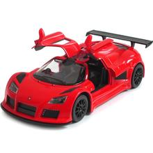 1:36 Gumpert Apollo Sports Car Alloy Diecast Model Toy Car High Simulation Exquisite Diecasts&Toy Vehicles KiNSMART Car Styling(China)