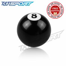 For Universal Car Acrylic 8 Ball Gear Knob / Short shifter Knob