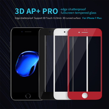 Nillkin AP+Pro 0.23mm Anti-Explosion 9H 3D Full Cover Tempered Glass For iPhone 7 Screen Protector for iPhone 7 Plus Glass film
