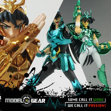 NEW ARRIVAL GREAT TOYS GreatToys GT EX Saint Seiya Dragon Shiryu V3 TV OCE GOLD Version Myth Cloth Action Figure(China)