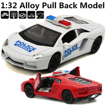 1:32 alloy car models, metal casting supercar, sound and light back to power, free shipping
