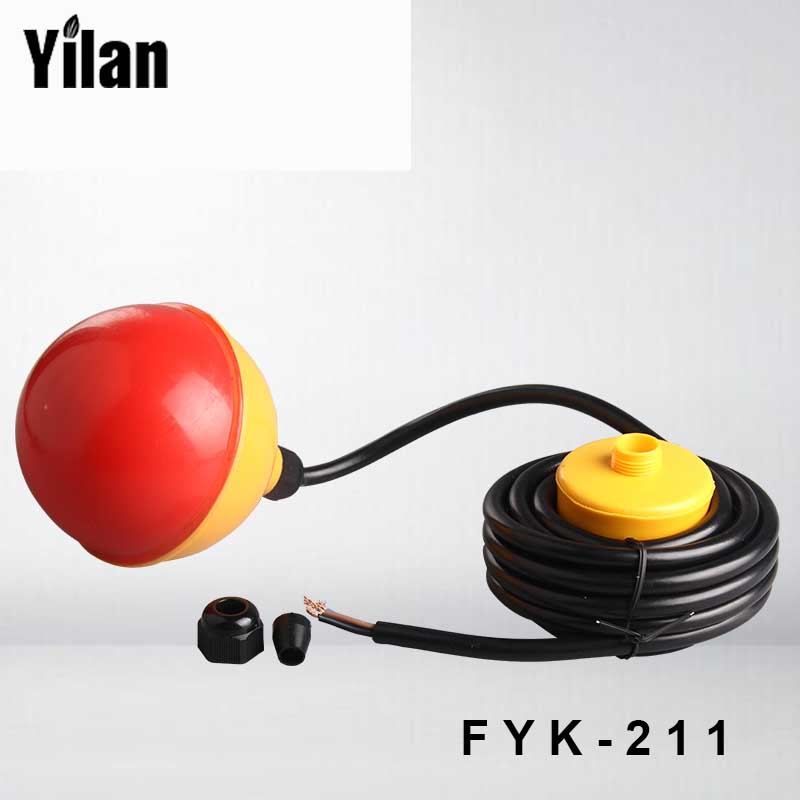 FYK-211 Cable type plastic float level water level controller float switch<br>