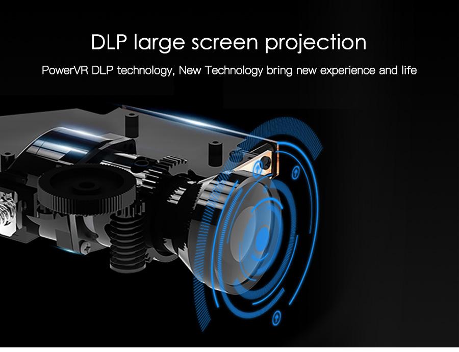 AODIAN AODIN 3D HD Mini projector DLP support 1080P video 8G pico pocket projector for home theater HDMI smart led portable projectors-17