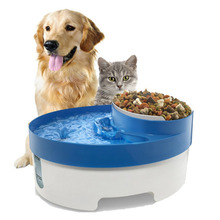 Pet Product Dog Bowl Automatic Pet Feeder Automatic Dogs Feeding 3 in 1 Cat Bowl Dog Water Fountain