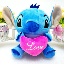 New Arrival Cartoon Lilo & Stitch Plush Toys Doll 20cm Stitch Plush Toys Plush Doll for Christmas Birthday Gift Free Shipping