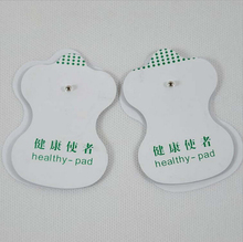 50pcs/lot health herald white Electrode Pads patch for Tens Acupuncture Slimming massager Digital Therapy Massage Machine