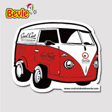 Bevle 1513 Ice cream car Fashion 3M Sticker Waterproof Laptop Luggage Fridge Skateboard Car Graffiti Cartoon Tide Sticke(China)