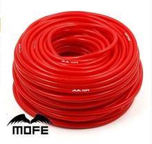 10.19 MOFE Universal 5m Blue/Red Universal 3mm/4mm/6mm/8mm Auto Car Vacuum Silicone Hose Racing Line Pipe Tube Car-styling(China)