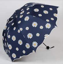 Flower Small Umbrella Wind Resistant Summer Sun&Rain Umbrella UV Protection Flower Samll Umbrella