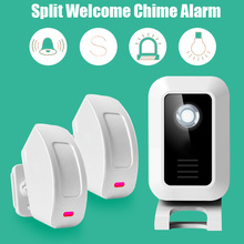 Welcome device Shop Store Home Welcome Chime Wireless Infrared IR Motion Sensor Door bell Alarm Entry Doorbell Reach 150m