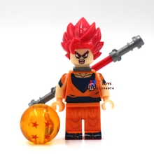 one piece Super Saiyan God Dragon Ball Kakarotto Goku building blocks lepin model brick Baby toys for children brinquedos menino