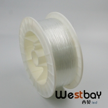 Free shipping 2700m per roll High quality 0.75mm PMMA Plastic Fiber Optic end glow for DIY lighting decoration(China)