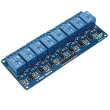 8 Channel DC 5V Relay Module Raspberry Pi DSP AVR PIC ARM Relay Control Panel PLC Relay in stock.8 road(China)